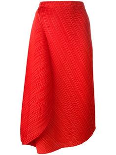 плиссированная юбка средней длины Pleats Please By Issey Miyake