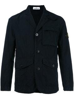 пиджак с фирменной нашивкой Stone Island