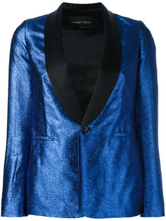 Metallic blazer Christian Pellizzari