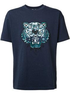 футболка с принтом тигра Kenzo