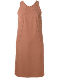 расклешенное платье без рукавов Nina Ricci