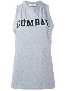 майка Combat MSGM
