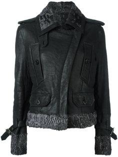 кожаная куртка Christian Dior Vintage