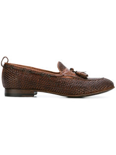 Brandy tassel loafers Silvano Sassetti