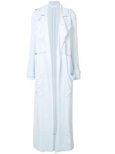 однобортное пальто Sally Lapointe