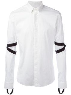 рубашка с эластичными вставками Les Hommes