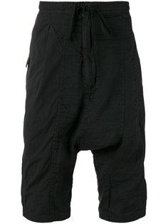 drop-crotch shorts The Viridi-Anne