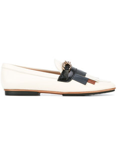 fringed trim loafers Tods Tod`S