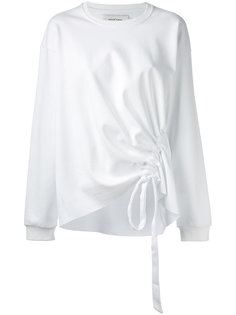 front-tie detail sweater Marquesalmeida