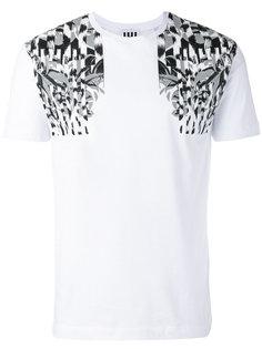 botanical print T-shirt Les Hommes Urban