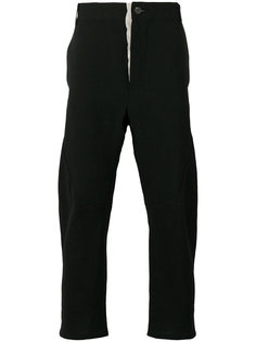 cropped slim-fit trousers Cedric Jacquemyn