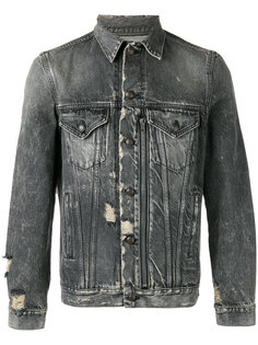 extreme distressed jacket R13