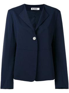 пиджак с застежкой на одну пуговицу Jil Sander