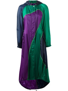 пальто с капюшоном Versace