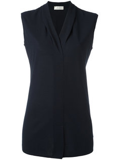 V-neck sleeveless shirt Zanone