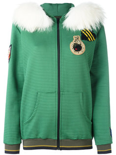 куртка на молнии с карманами по бокам  Mr & Mrs Italy