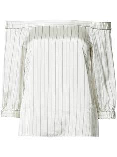 блузка с открытыми плечами Tibi