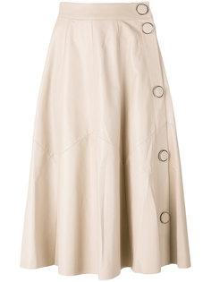 A-line leather skirt Drome