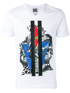 V-neck T-shirt Les Hommes Urban