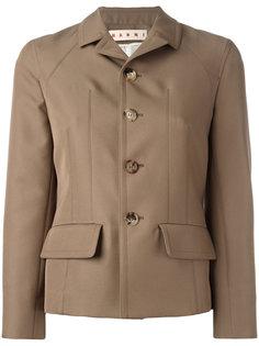 однобортная куртка Marni