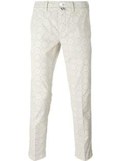 брюки с цветочным принтом   Jacob Cohen