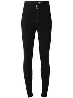 структурированные брюки скинни Versace