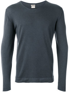 long sleeve scoop neck sweatshirt Massimo Alba
