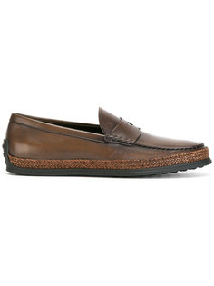 braided trim loafers  Tods Tod`S