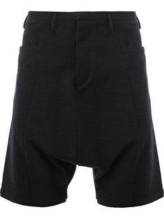 drop-crotch shorts Label Under Construction