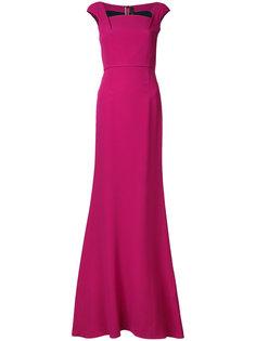 длинное вечернее платье Roland Mouret