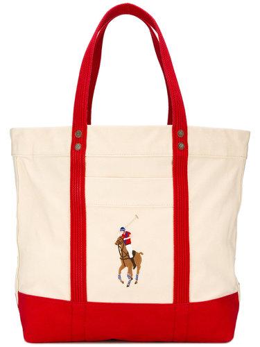 сумка на плечо с вышитым логотипом Polo Ralph Lauren