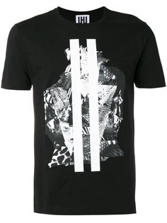graphic print T-shirt Les Hommes Urban