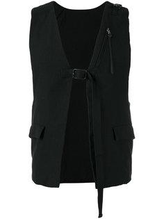 buckle strap vest The Viridi-Anne