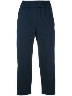 stretch-waist cropped trousers Alberto Biani