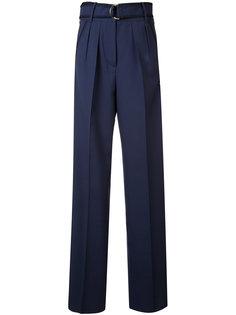 брюки-палаццо с поясом Roksanda
