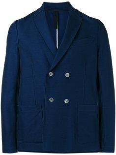 double-breasted blazer Harris Wharf London