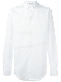 рубашка с полосками в рубчик Neil Barrett