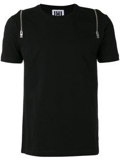 zip detail T-shirt Les Hommes Urban