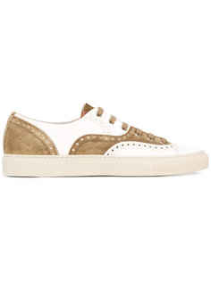 perforated detail lace-up sneakers Buttero