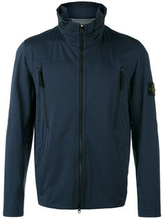 iconic branded windbreaker jacket Stone Island