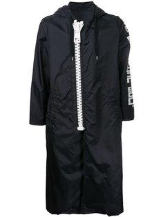 свободное пальто на молнии  Maison Mihara Yasuhiro