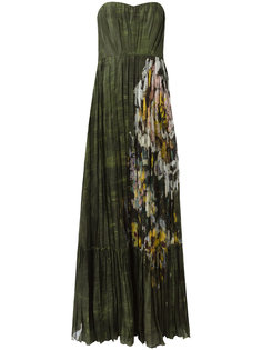 вечернее платье с принтом  Valentino