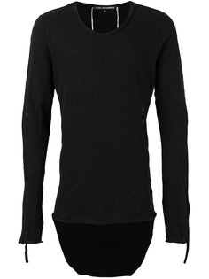 long sleeved sweatshirt Cedric Jacquemyn
