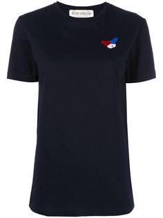 embroidered figure T-shirt Être Cécile