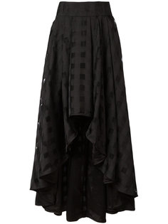 ruffle maxi skirt Ultràchic