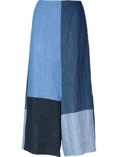 укороченные брюки дизайна колор-блок Demoo Parkchoonmoo