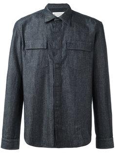 классическая джинсовая рубашка Maison Margiela