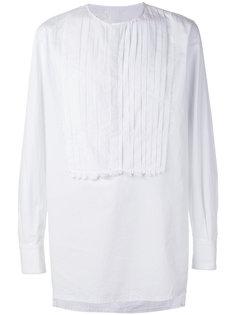 detailed placket shirt Nostra Santissima
