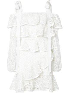 короткое платье Farina Rebecca Vallance