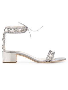 studded trim sandals  René Caovilla